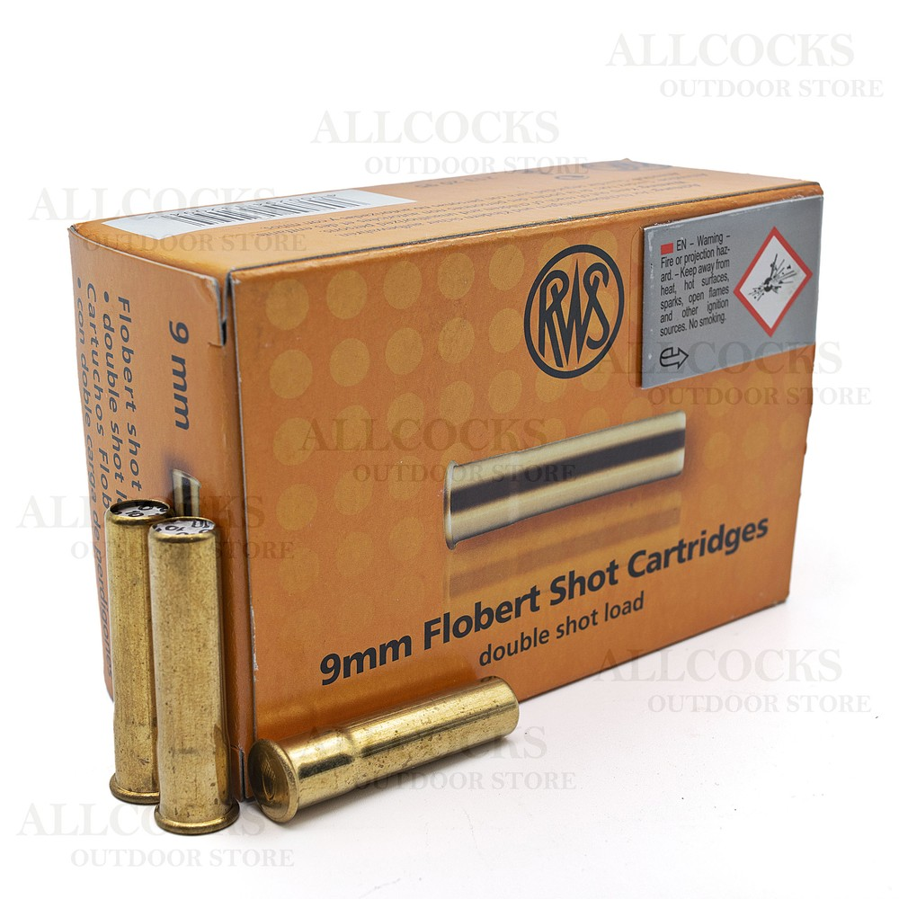 RWS 9mm Garden Gun Ammunition - No.10 Shot Unknown
