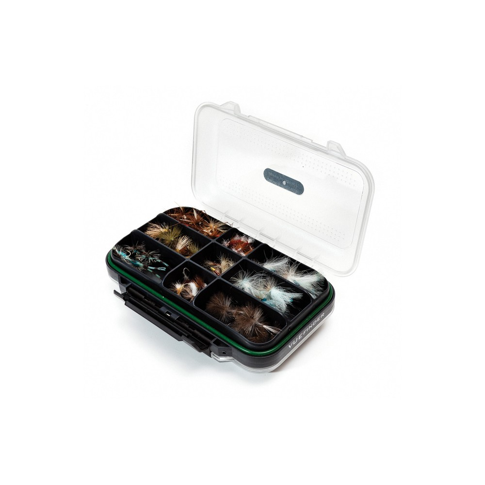 Wychwood VUEfinder Fly Box - Large - Dryfly Compartment/Slot