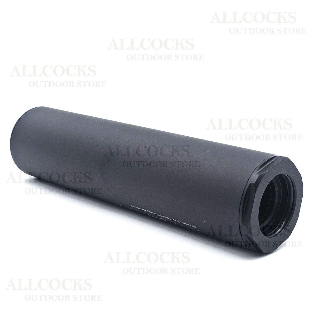 A-Tec 119 Hertz Sound Moderator - 6.5mm (.264) Cal - M14x1 Black