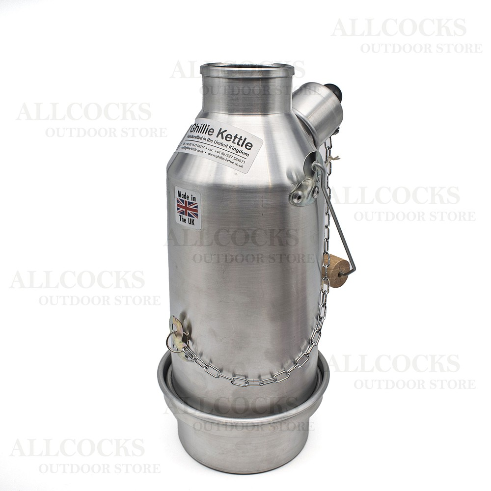 Ghillie Kettle Company Ghillie Kettle - The Maverick - Aluminium - 0.5L