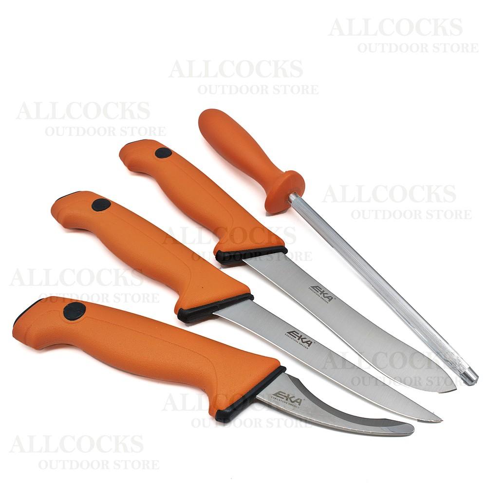 Eka Butcher Knife Set Orange