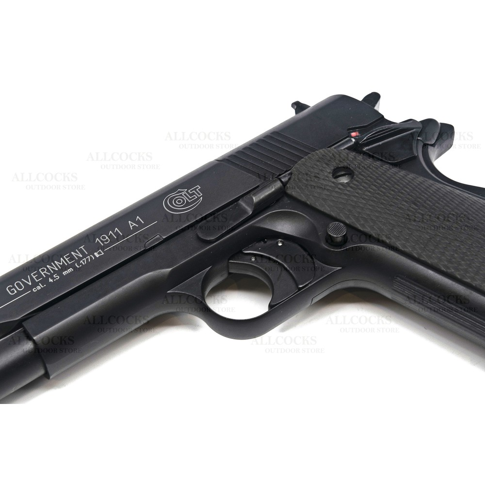Colt Umarex  Government 1911 A1 CO2 Air Pistol - Black - .177 Unknown