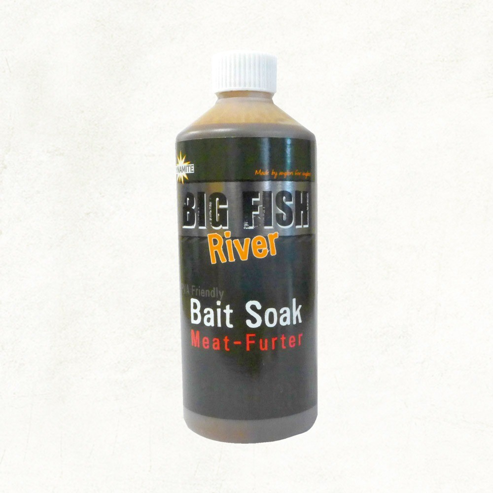 Dynamite Baits Big Fish River Bait Soak - Meat-Furter