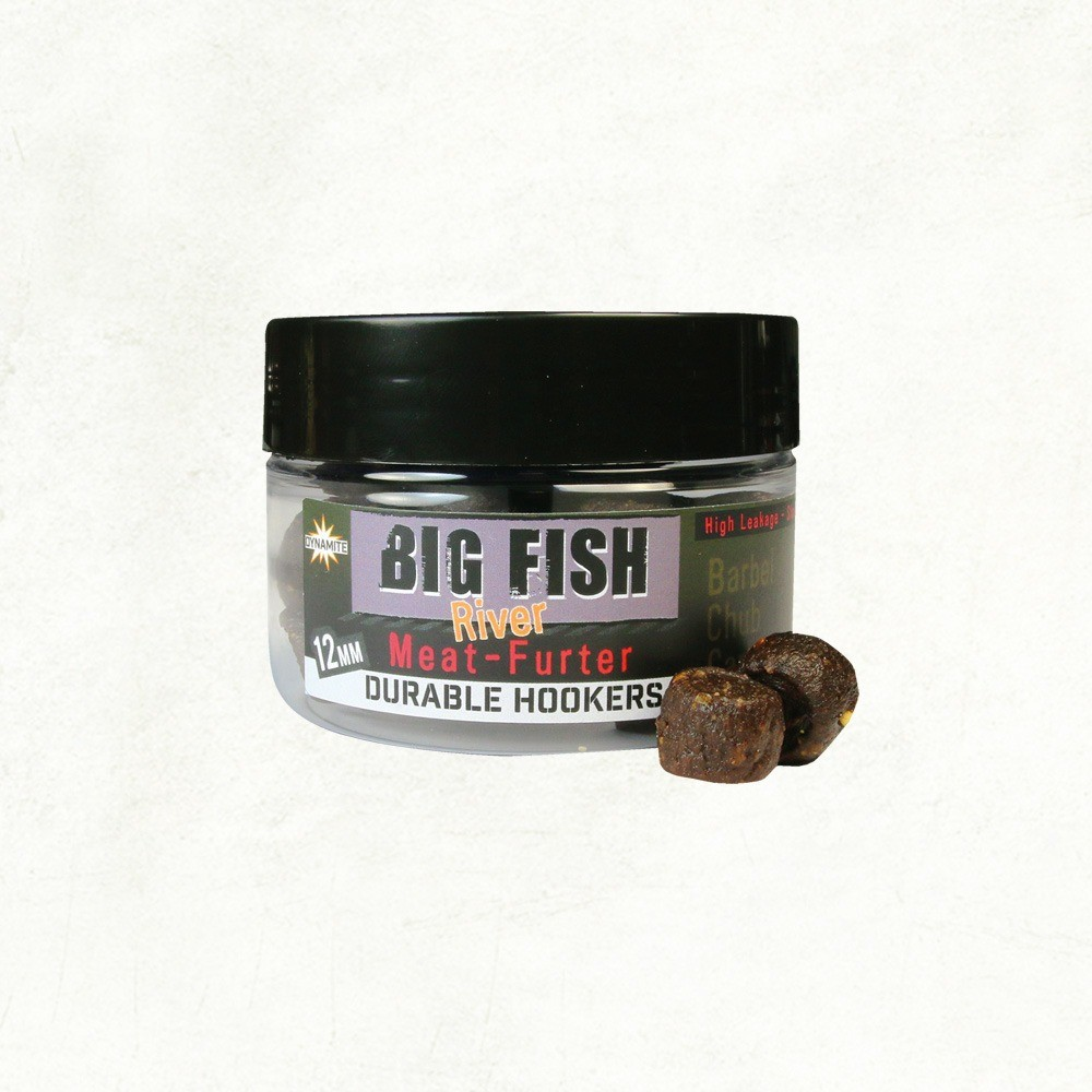 Dynamite Baits Big Fish River Durable Hook Pellets - Meat-Furter - 12mm