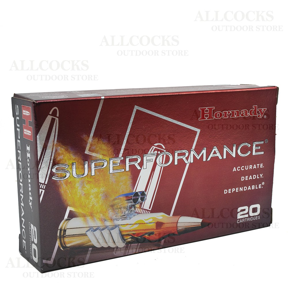 Hornady .308 Ammunition - 150gr - Superformance SST Unknown