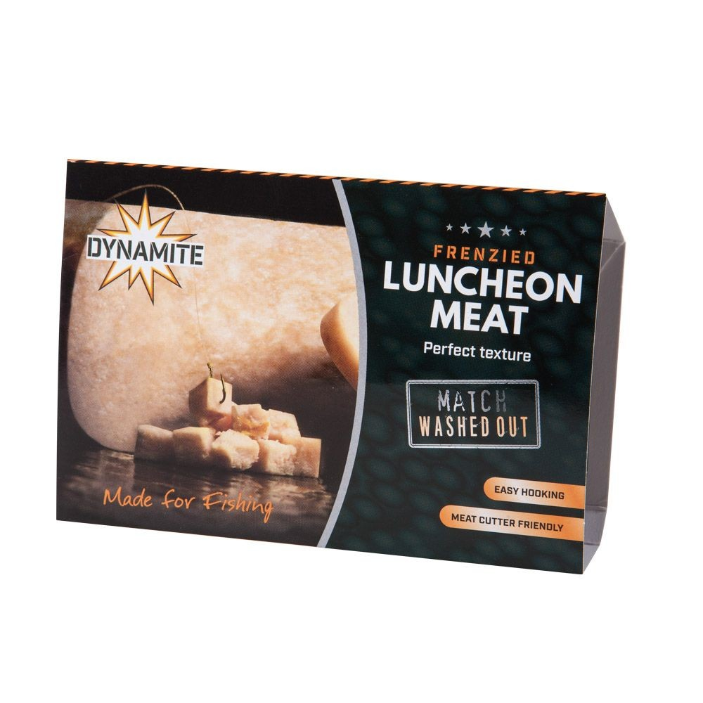 Dynamite Baits Frenzied Luncheon Meat - Match Washed Out