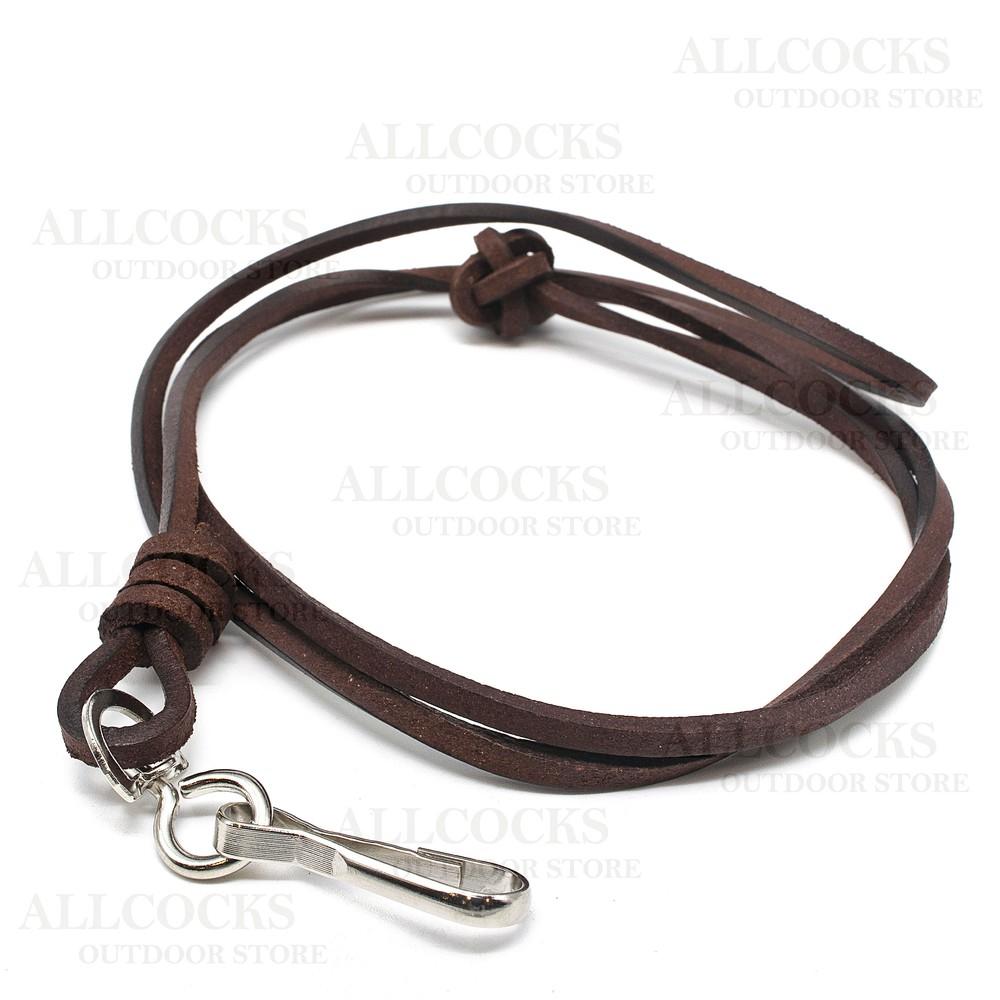 Bisley Bootlace Leather Lanyard Leather