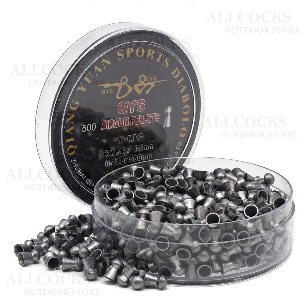 Qiang Yuan Sports Diabolo Pellets - Domed - .177 - 4.50