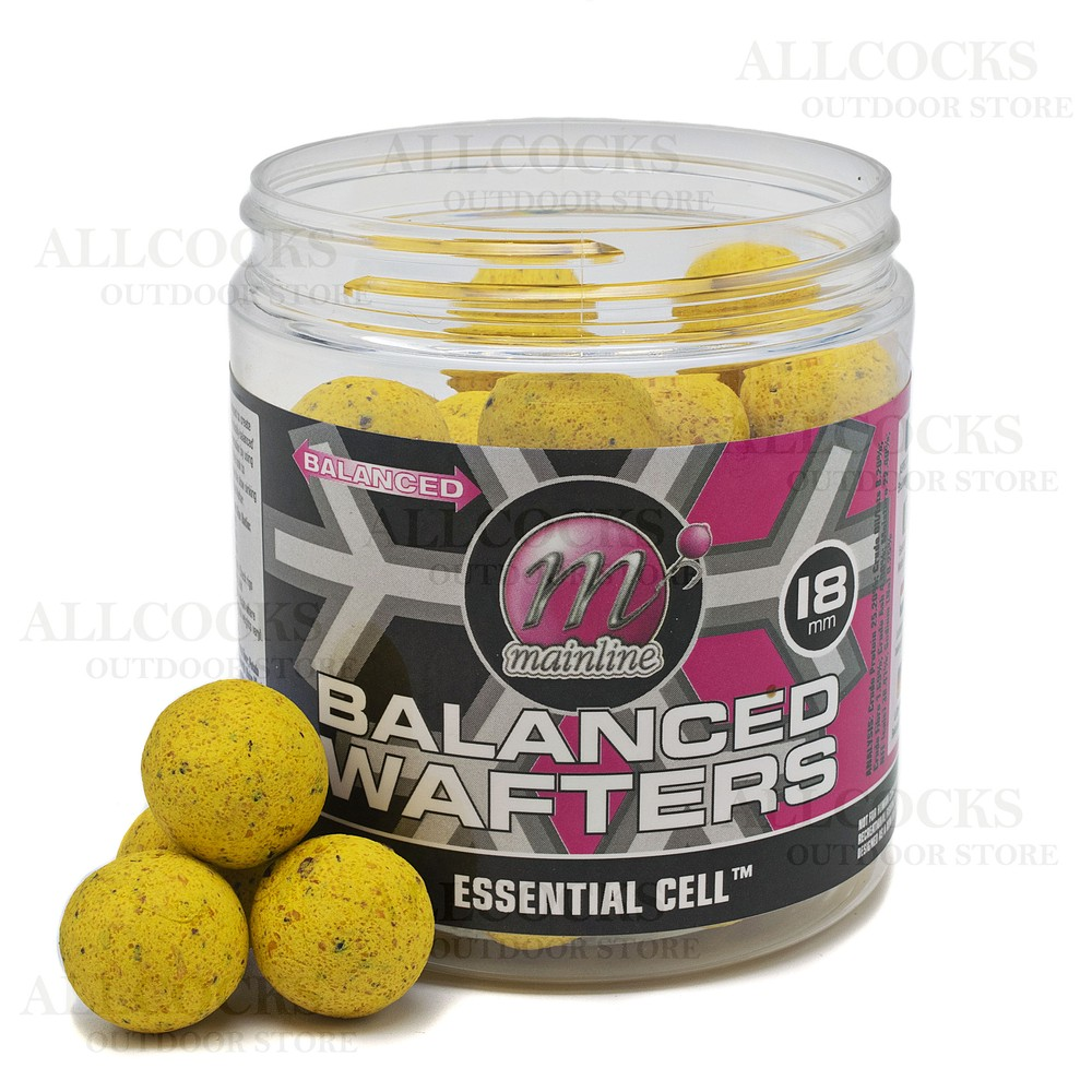 Mainline Baits Balanced Wafters - Essential Cell Yellow
