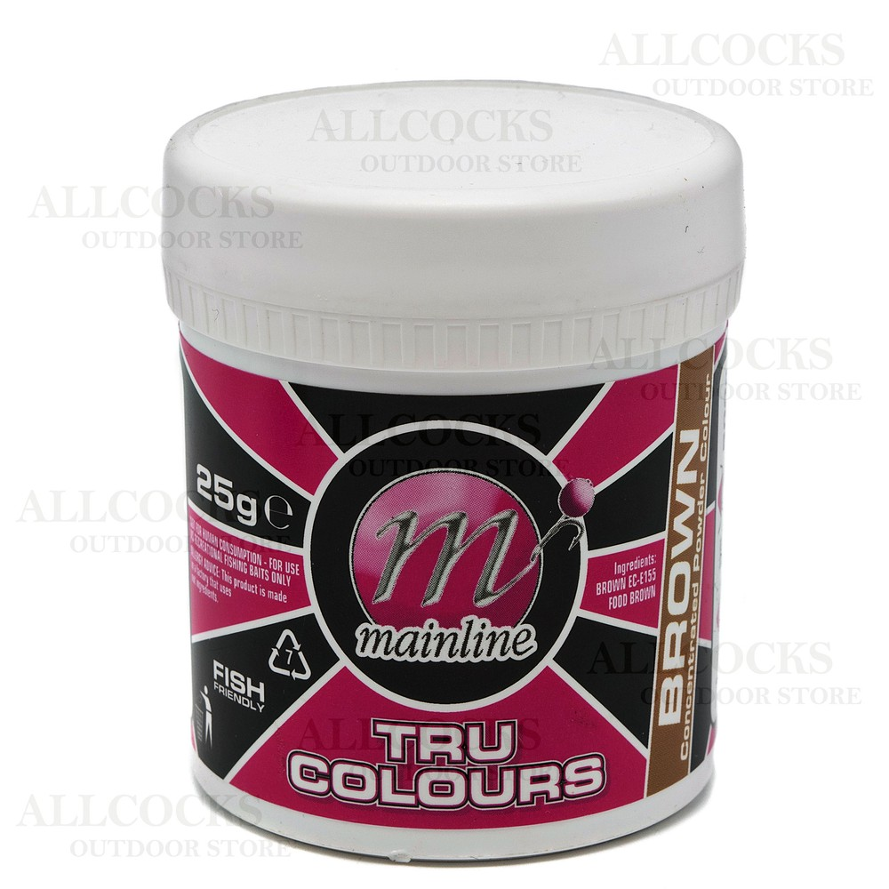 Mainline Baits Tru-Colour Powdered Dye Assorted