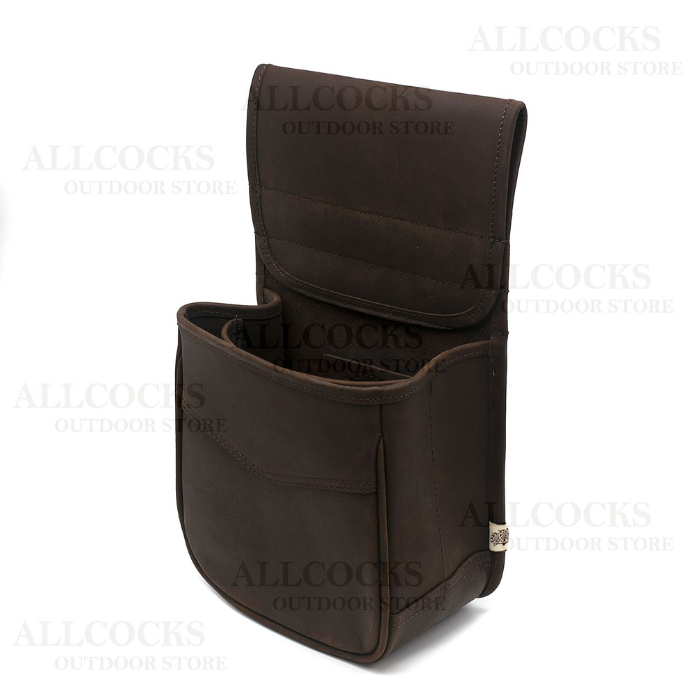 Teales Cartridge Pouch - 100 Shells Dark Brown