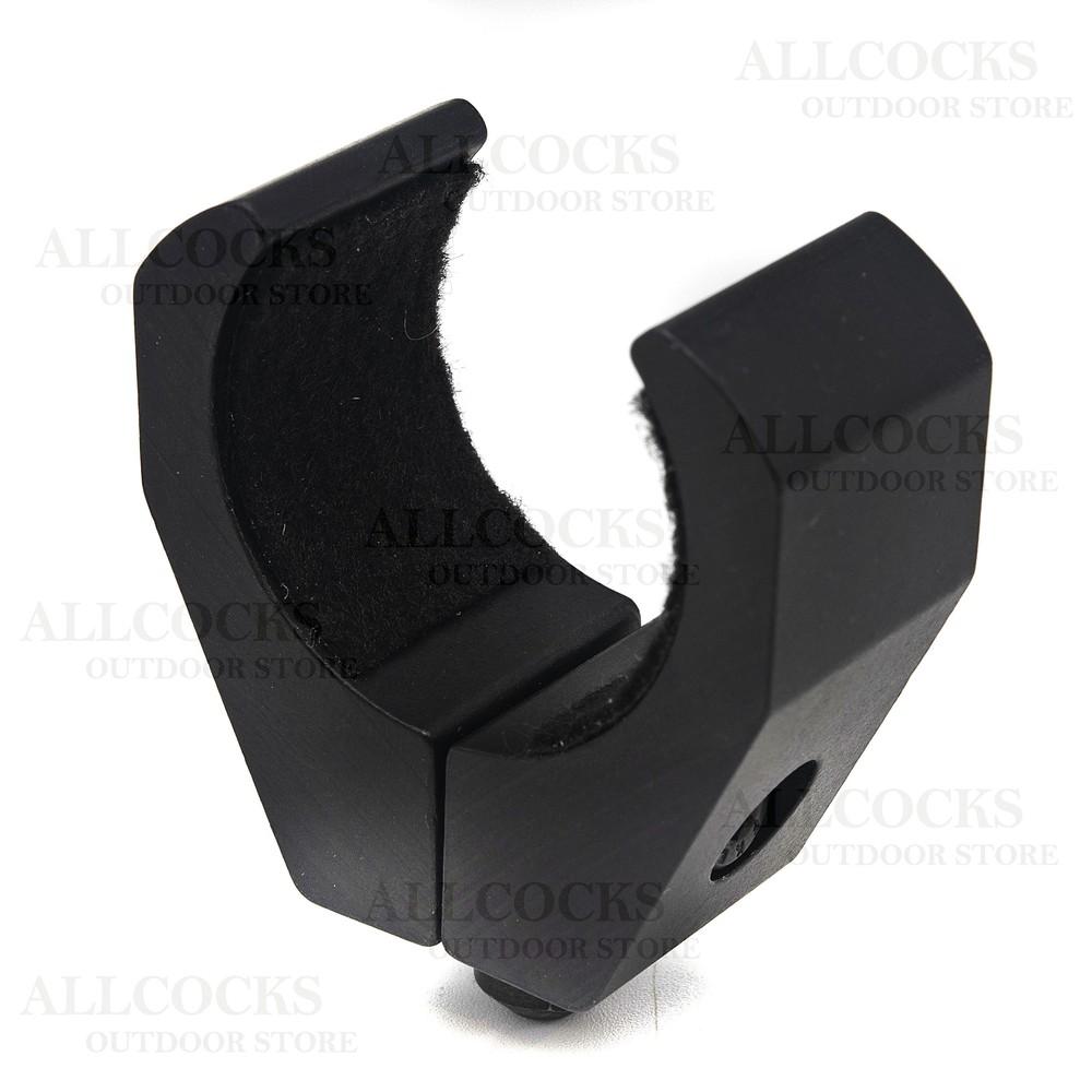 FX Tube Clamp for fitting Bi-Pods Black
