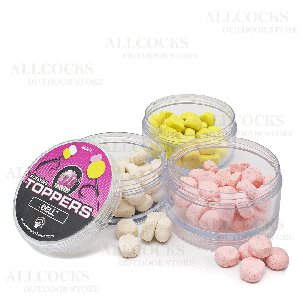Mainline Baits Toppers - Cell Cream