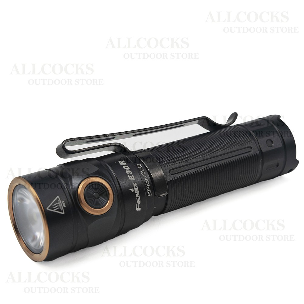 Fenix E30R Rechargeable Torch Black