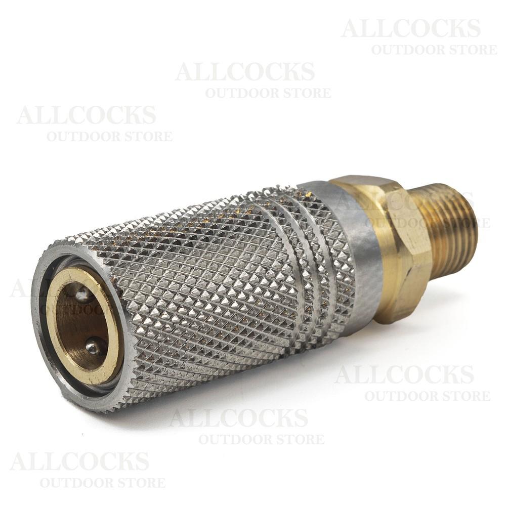 Allcocks Quick Coupler Extended Socket Stainless