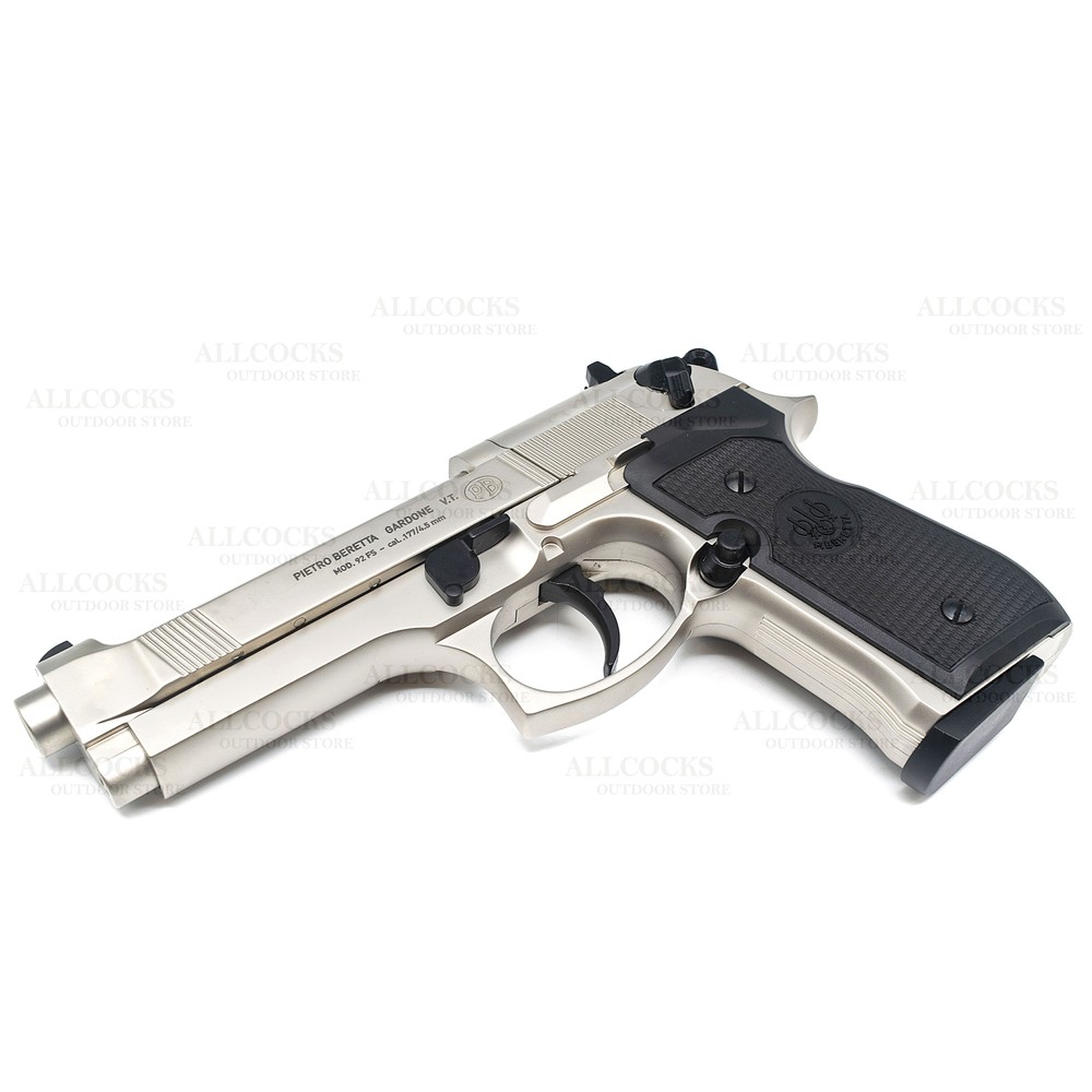 Beretta Umarex  M92 FS CO2 Air Pistol Nickel