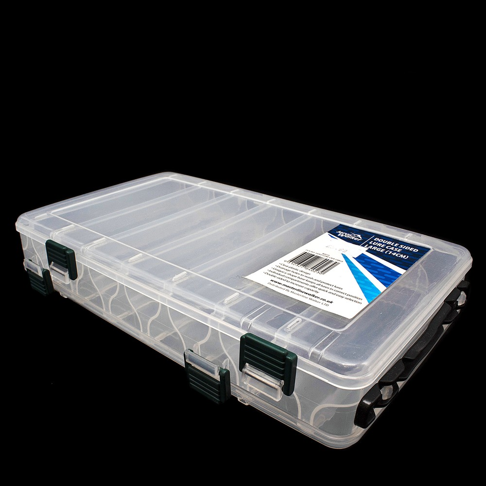 Jarvis Walker Double Sided Lure Case - Large Clear