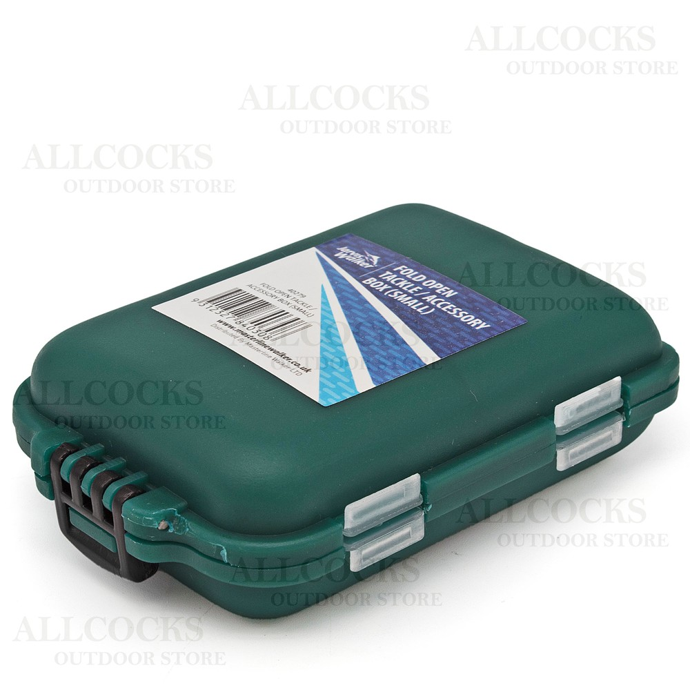 Rovex Jarvis Walker Small Fold Open Accessory Box Green