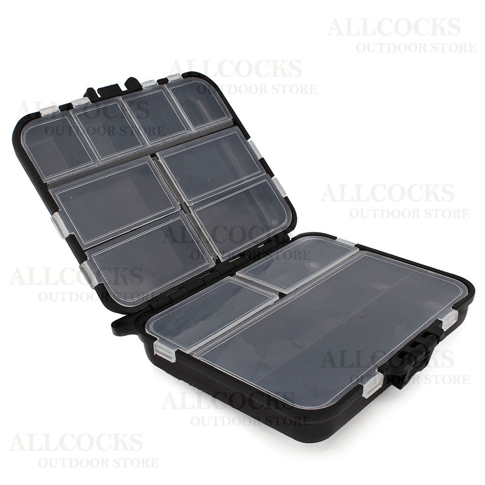 Rovex Jarvis Walker Large Fold Open Accessory Box Black