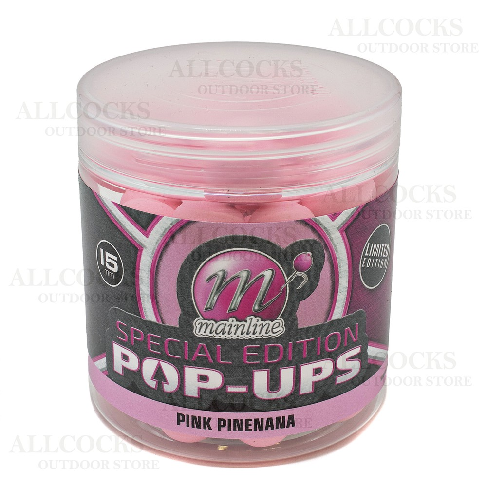 Mainline Baits Special Edition Pop-Ups - Pink Pinenana