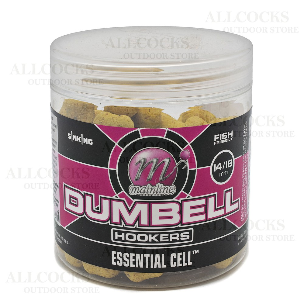 Mainline Baits Dedicated Dumbell Hookers Assorted