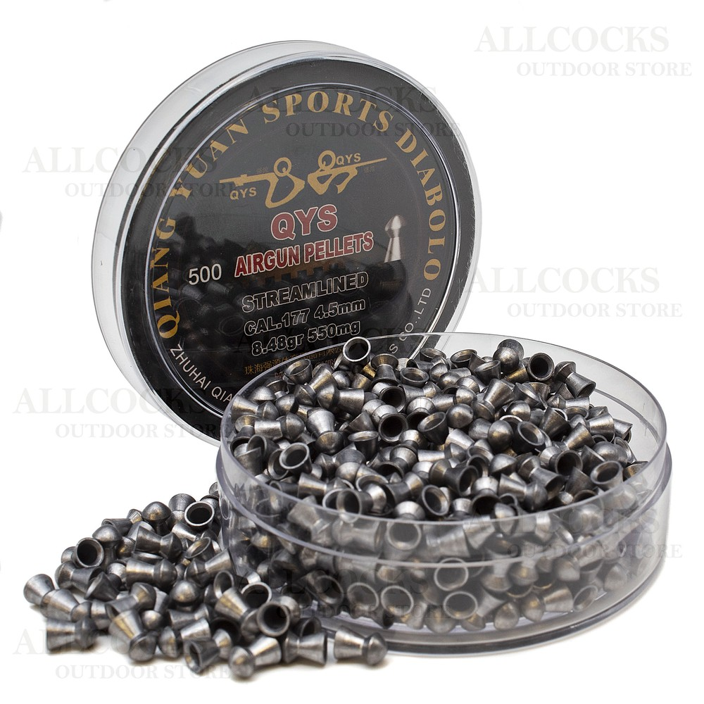 Qiang Yuan Sports Diabolo Pellets - Streamlined - .177 - 4.50