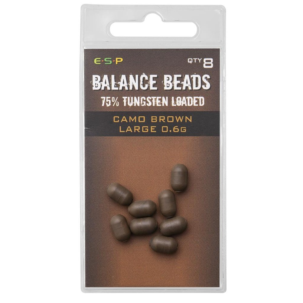 ESP Tungsten Loaded Balance Beads Camo Brown