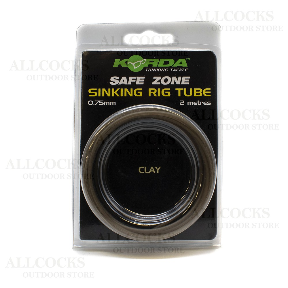 Korda Korda Safe Zone Sinking Rig Tube in Clay
