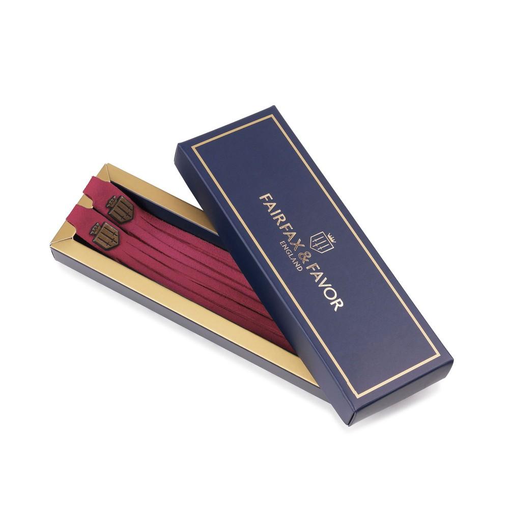 Fairfax & Favor Boot Tassels - Raspberry