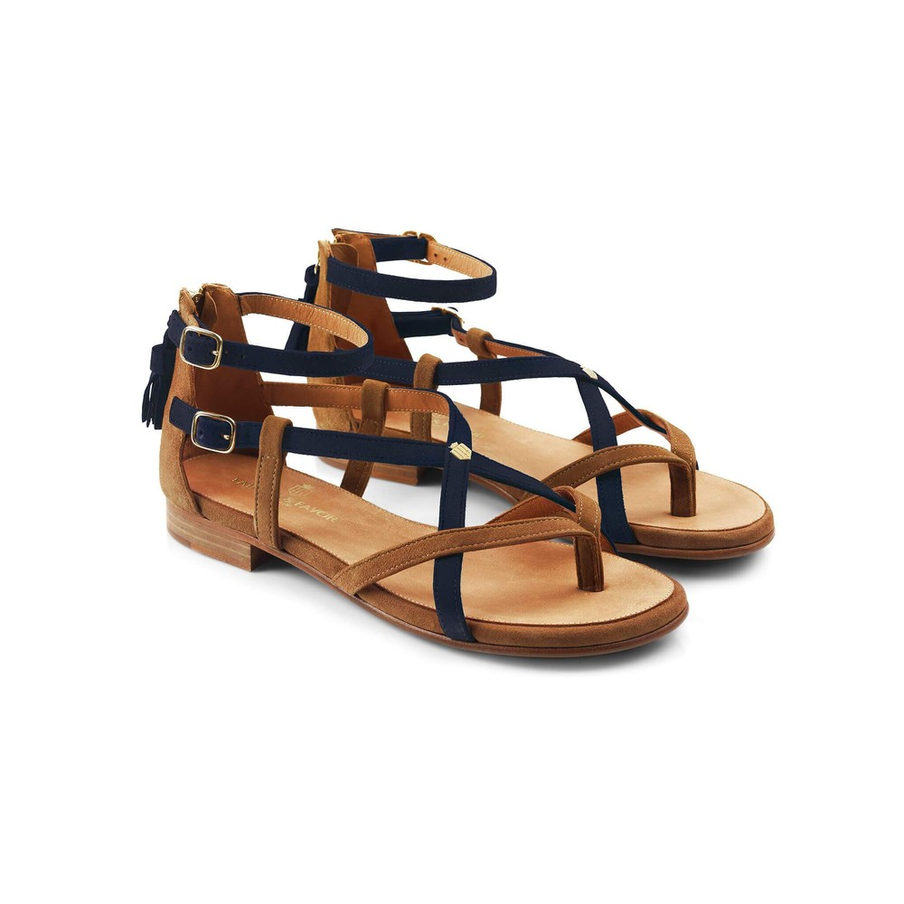 Fairfax & Favor Fairfax & Favor The Brancaster - Tan/Navy