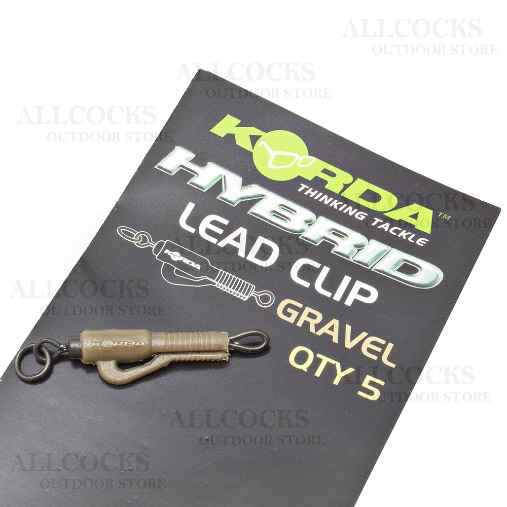Korda Korda Hybrid Lead Clip in Gravel
