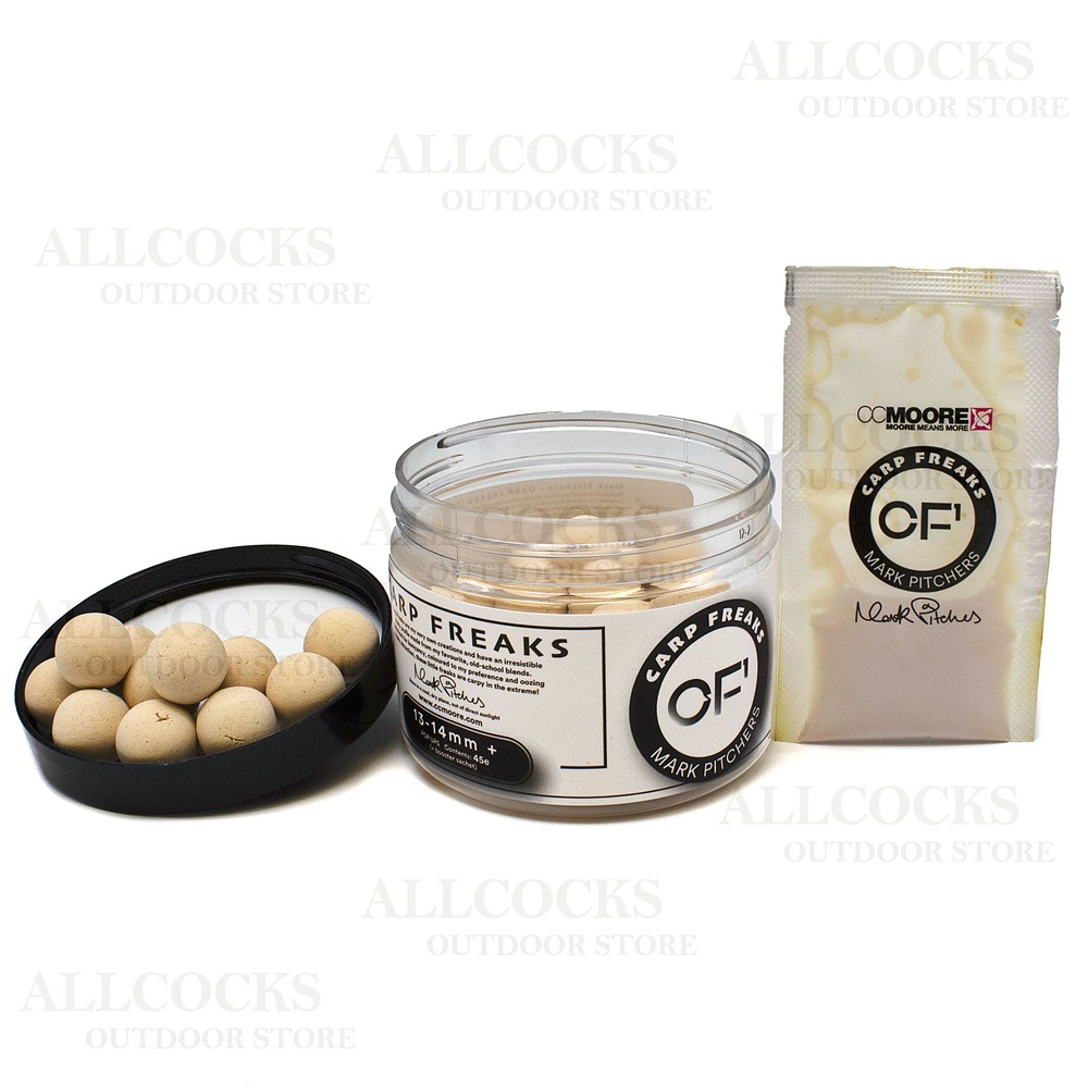 CC Moore Carp Freaks Pop Ups White