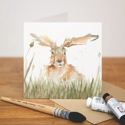 Kate Of Kensington Kate Of Kensington Greeting Cards - Solo Hare