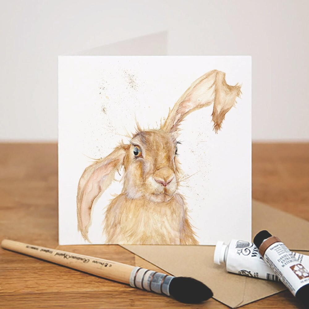 Kate Of Kensington Kate of Kensington Greeting Cards - Heads Up! Hare Heads Up! Hare