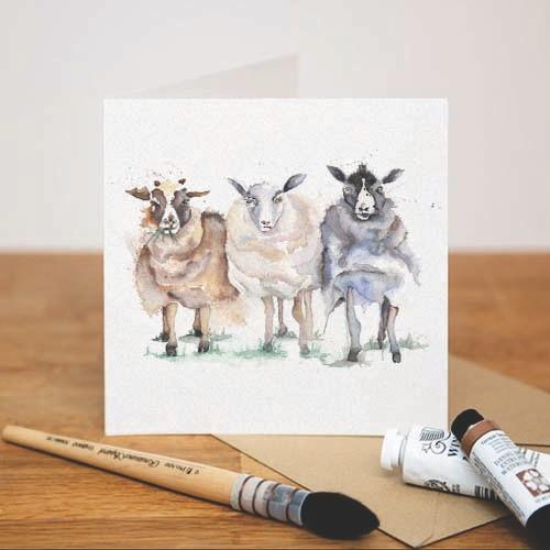 Kate Of Kensington Kate of Kensington Greeting Cards - Counting Sheep