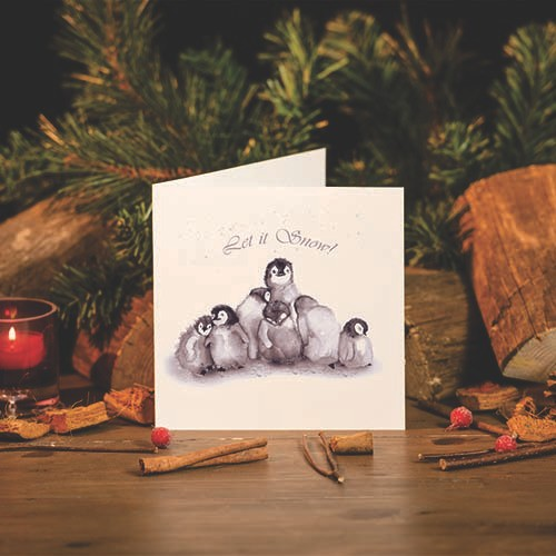 Kate Of Kensington Kate of Kensington Greeting Cards - Let It Snow
