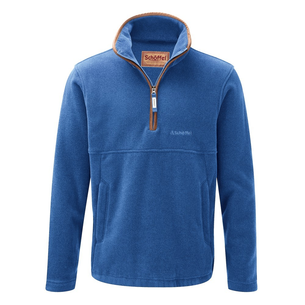 Schoffel Berkeley 1/4 Zip Fleece Cobalt Blue