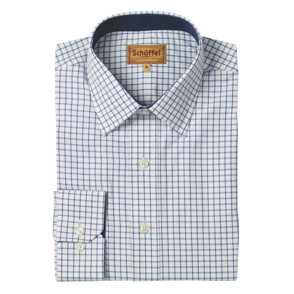 Schoffel Schoffel Cambridge Shirt - Tailored Sporting Fit