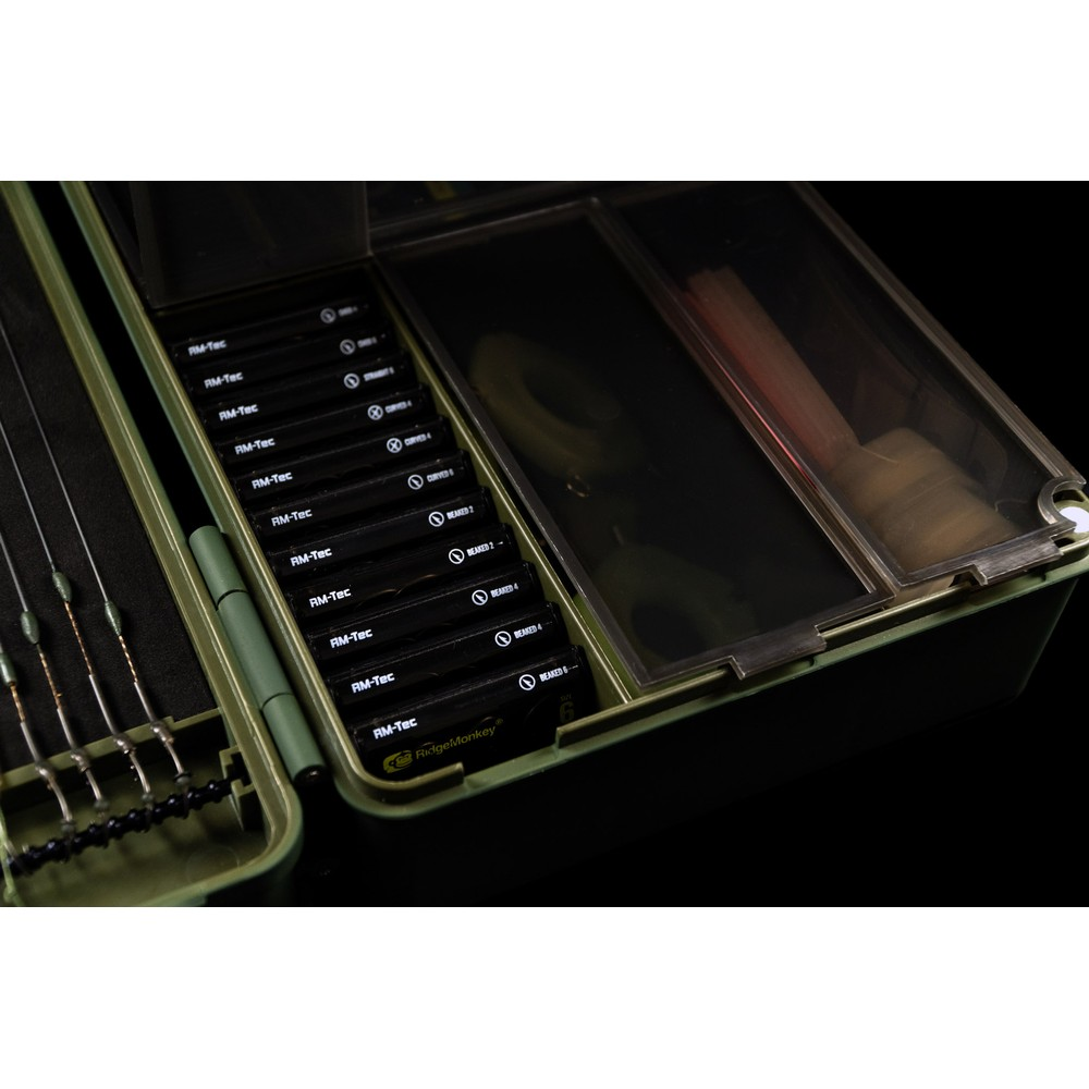 RidgeMonkey Armoury Tackle Box Green