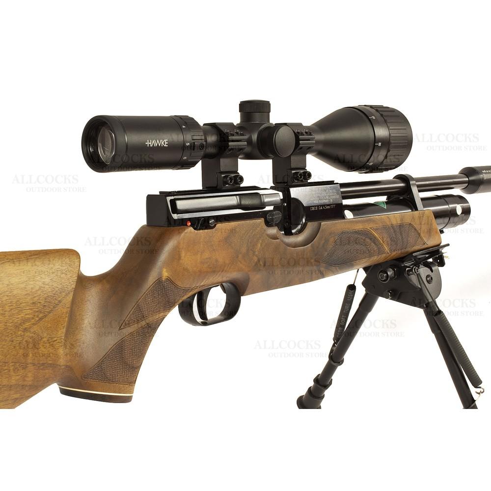 Weihrauch Pre-Owned  HW100 KS Walnut Air Rifle - .177 Walnut