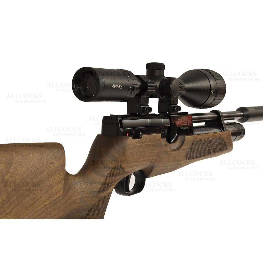 Weihrauch Pre-Owned  HW100 KS Walnut Air Rifle - .22 Walnut