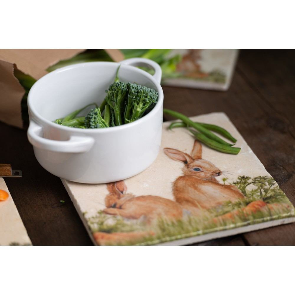 Kate Of Kensington Kate of Kensington Medium Platter - Rabbit Patch Rabbit Patch