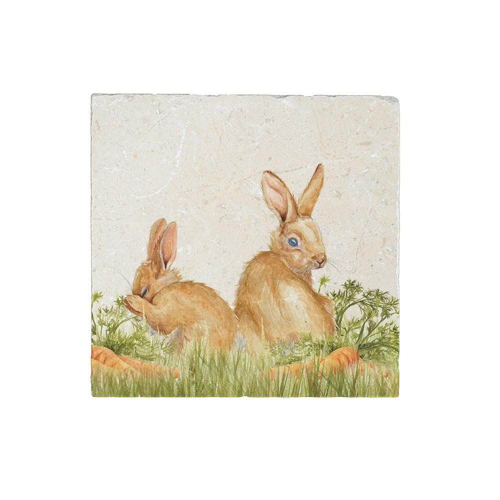 Kate Of Kensington Kate of Kensington Medium Platter - Rabbit Patch