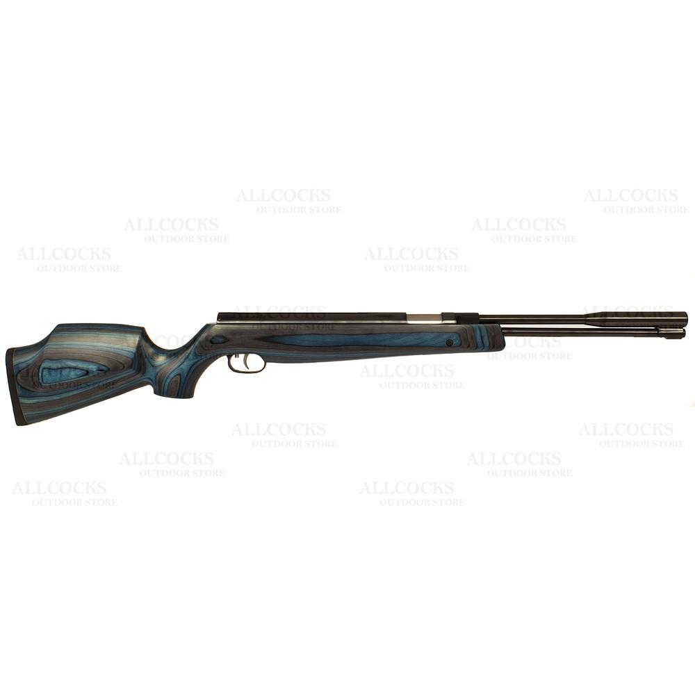 Weihrauch Pre-Owned  HW97 K Blue Laminate Air Rifle - .22 Blue Laminate