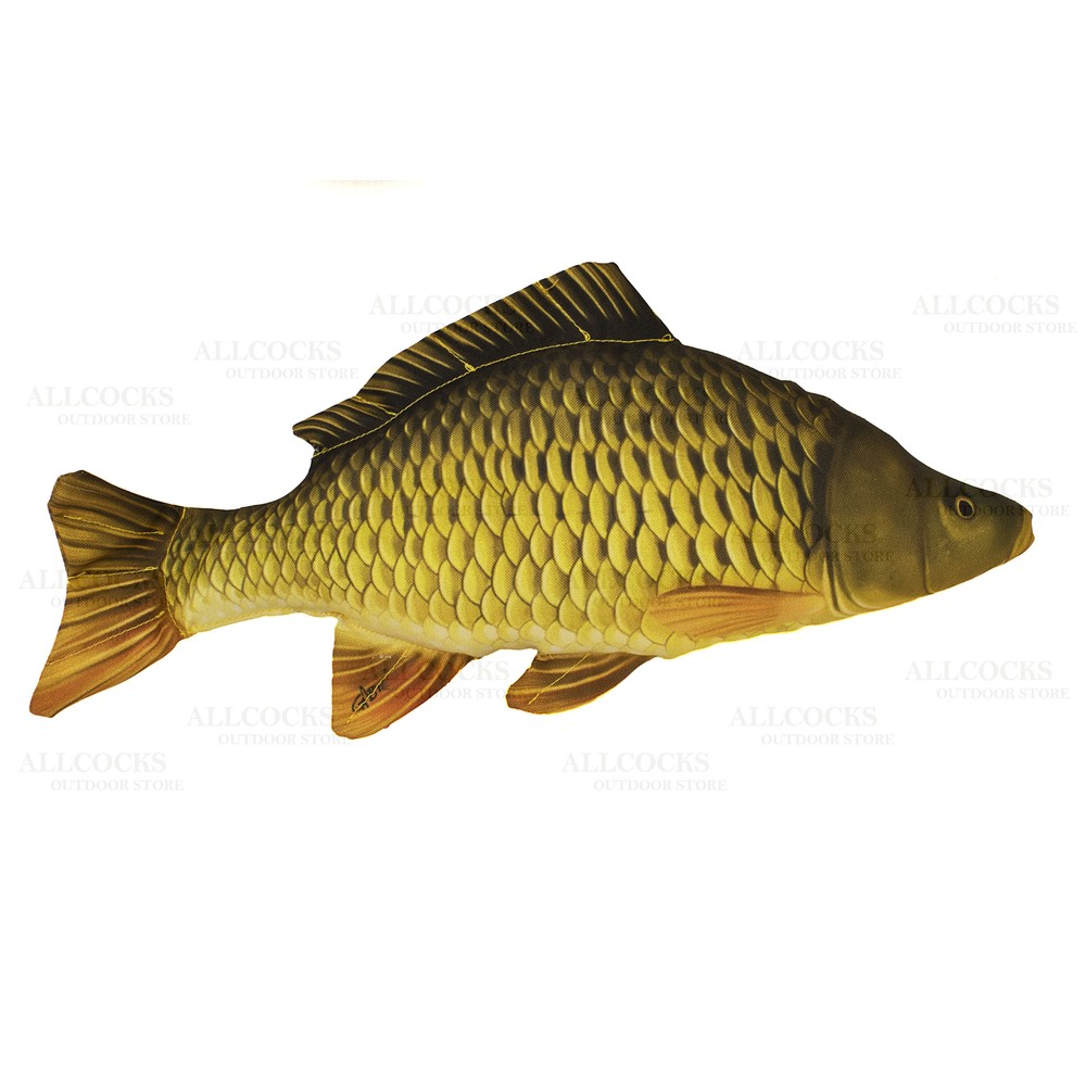 Gaby Fish Pillow - Common Carp