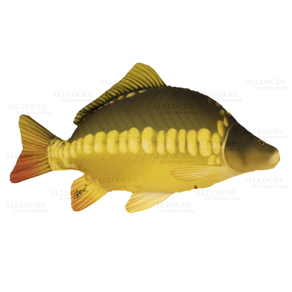 Gaby Fish Pillow - Mirror Carp