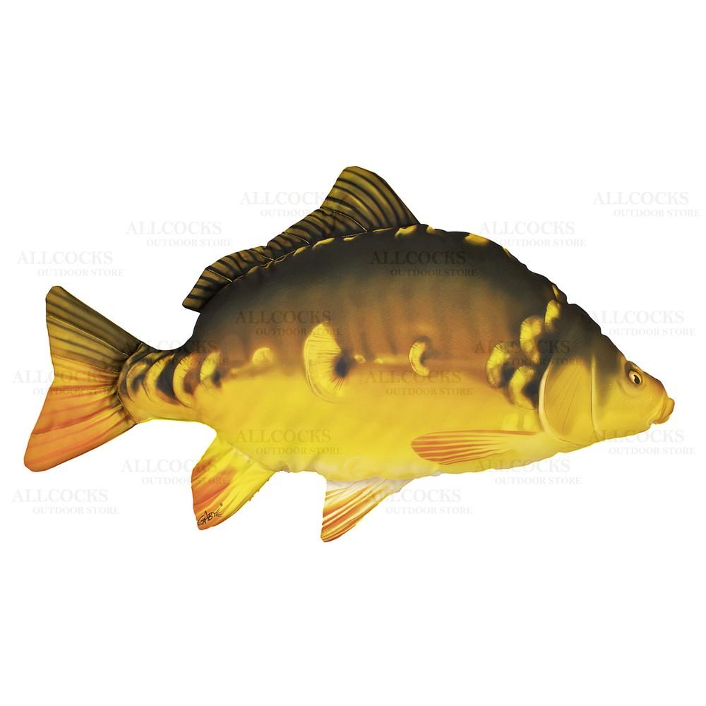 Gaby Fish Pillow - Mirror Carp N/A