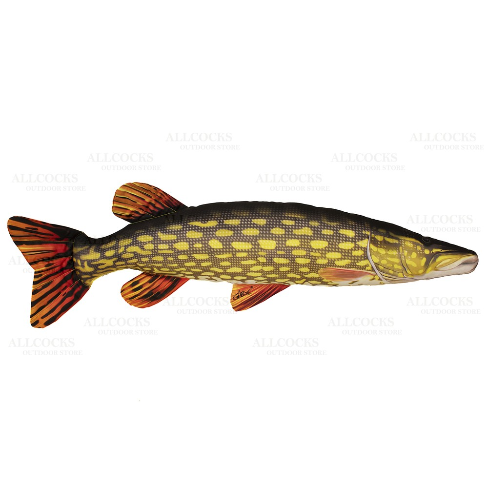 Gaby Fish Pillow - Pike