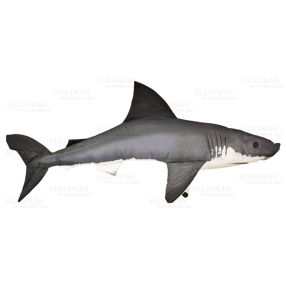 Gaby Fish Pillow - Great White Shark