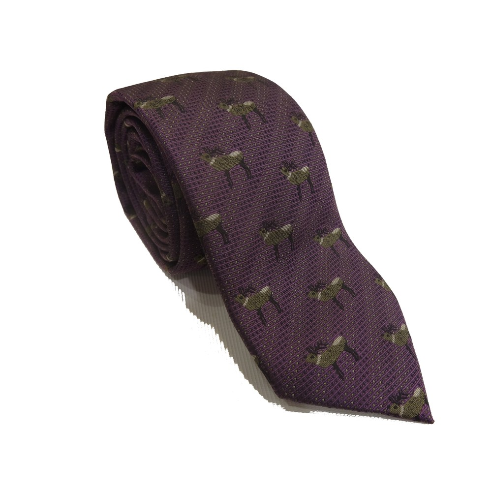 Laksen Laksen Deer Tie - Heather/Pine